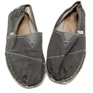 Toms One-for-One Mens Gray Loafers/Slides